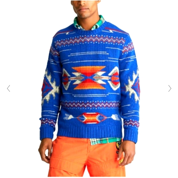 Polo Country Ralph Lauren southwestern sweater